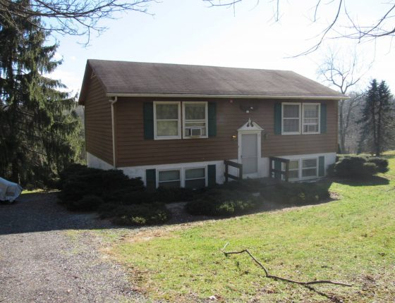 single acre two bedroom home for sale in honey brook